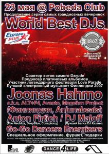 WORLD BEST DJs: FINLAND