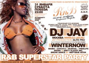 R&B SUPERSTAR PARTY